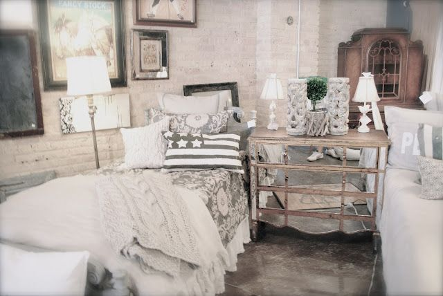 love the mirror fronted dresser ~ from Room 363