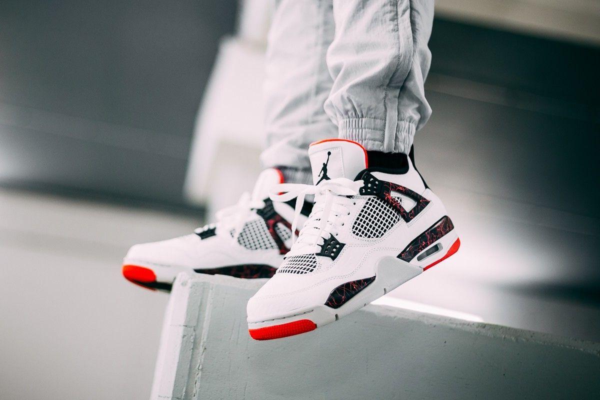 Nike Air Jordan 4 Retro Mens Hi Top