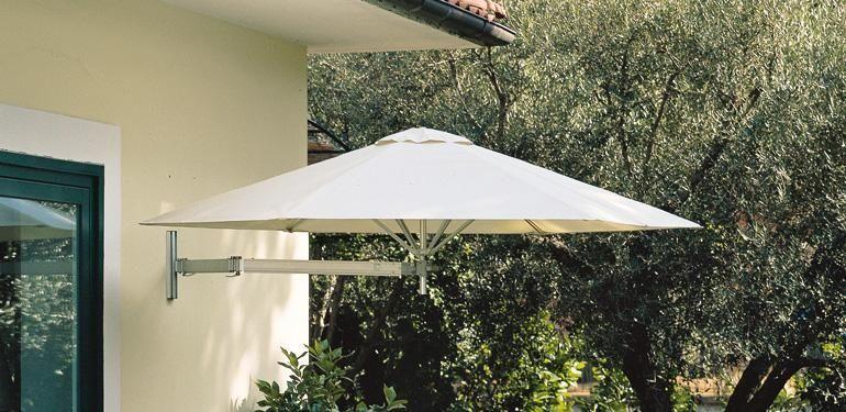 Wall Mounted Patio Umbrella Sunny