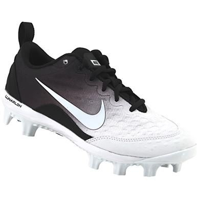 adddbc05907 Nike Hyperdiamond 2 Pro Mcs FP Softball Cleats - Womens Black White ...