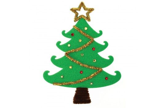 Nicole™ Crafts Decorated Felt Christmas Tree