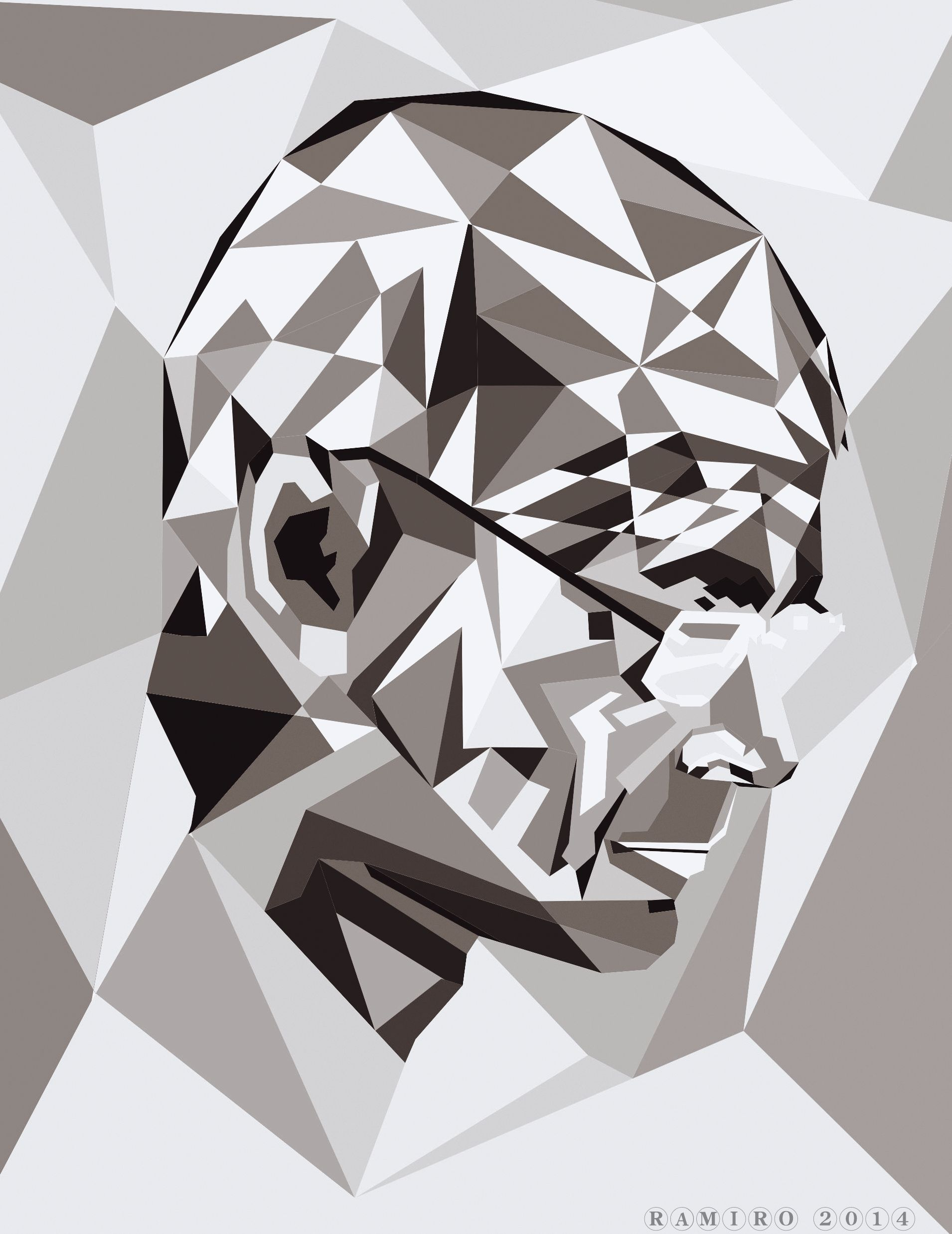 Ramiro R. Batista Vector Art, Geometric Drawing, Vector, #ramiro R.