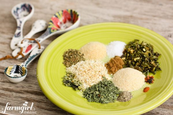 Homemade Green Taco Seasoning | How to Make Taco Seasoning