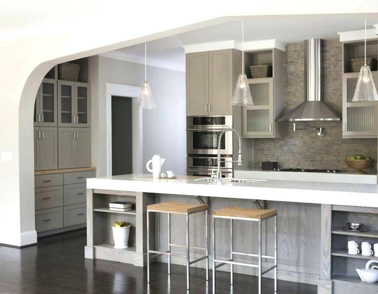 Elegante Küche einer überarbeitung der Oberfläche