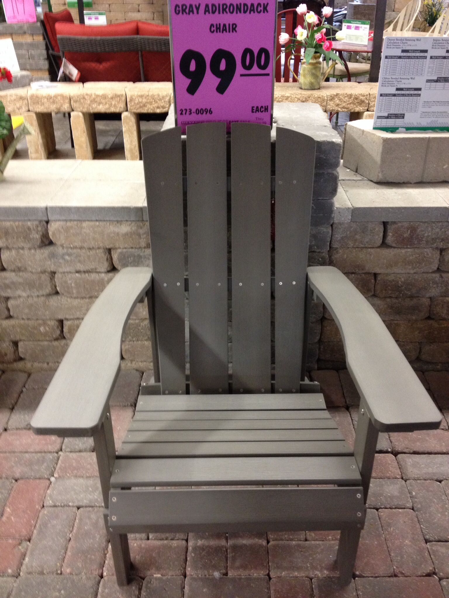 100 at Menard's (With images) Outdoor chairs
