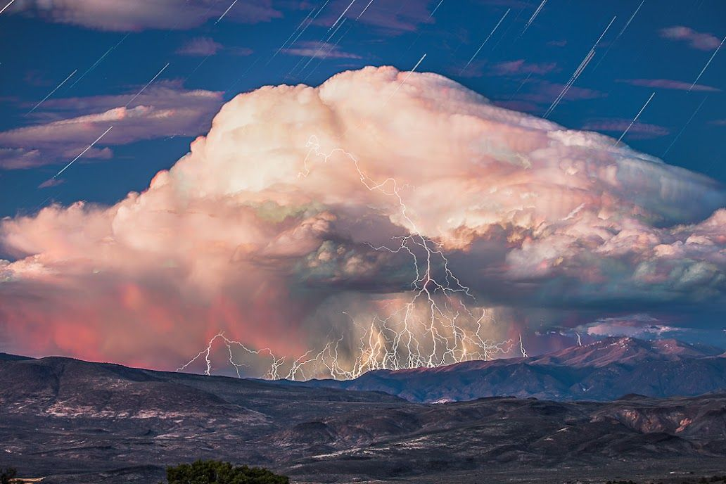 Incredible Time lapse Video Of A Storms Formation With Composite Shot