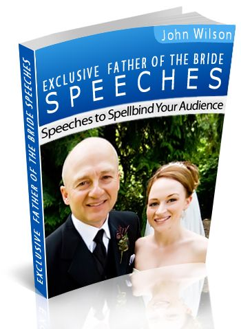 Father Of The Bride Speeches Book  Outstanding And Extremely