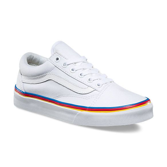 68263d3cc5c vans    rainbow foxing old skool Rainbow Vans