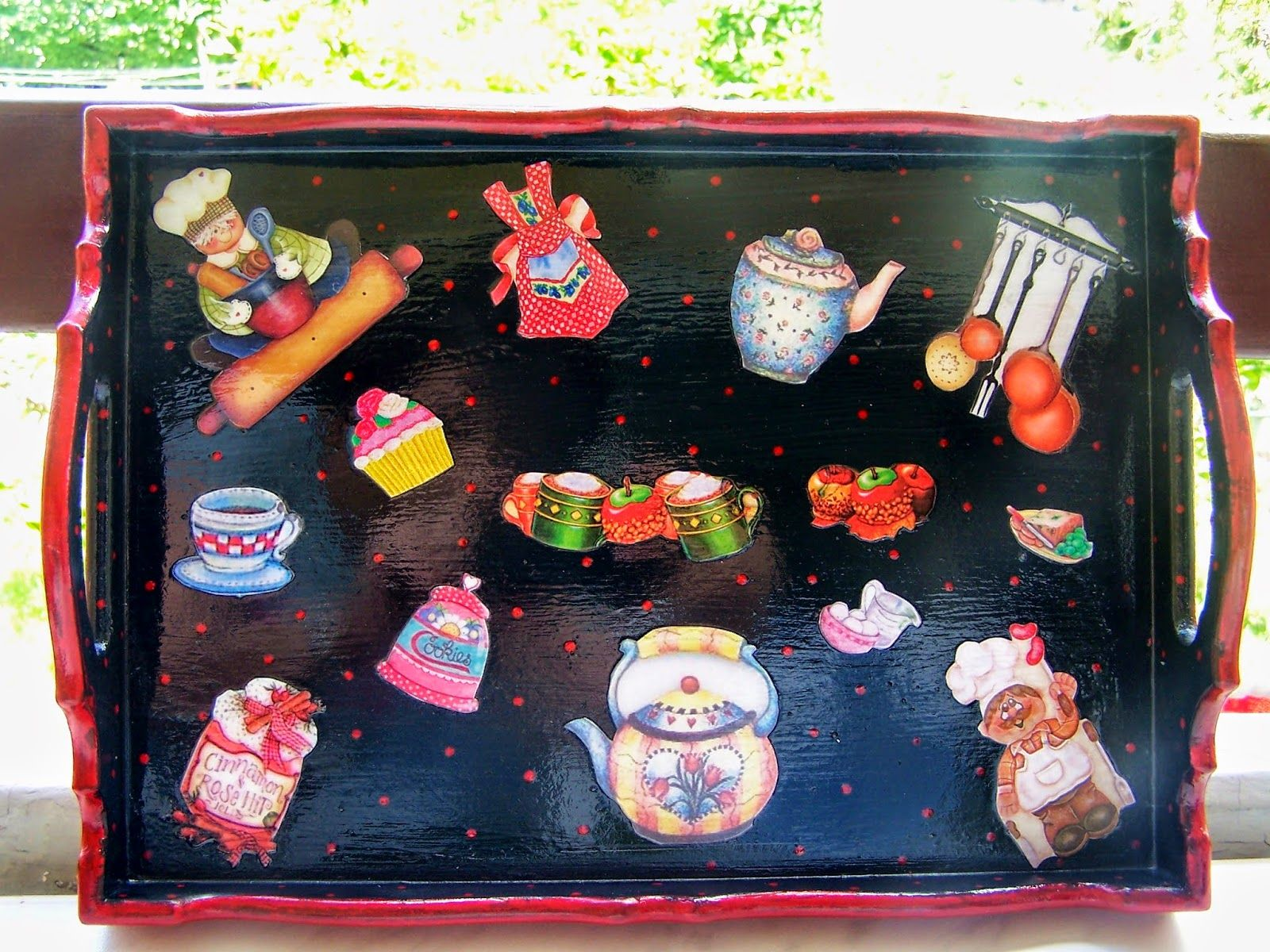 painting tray