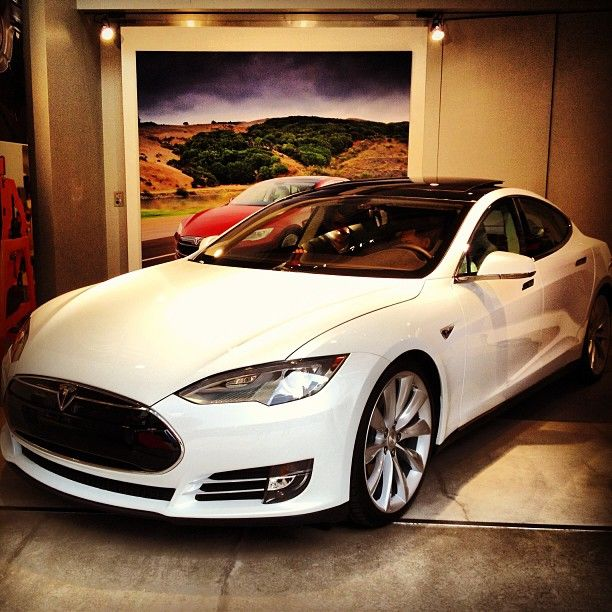 Beautiful Tesla S Model. Only $75,000 To Go Green? Is It