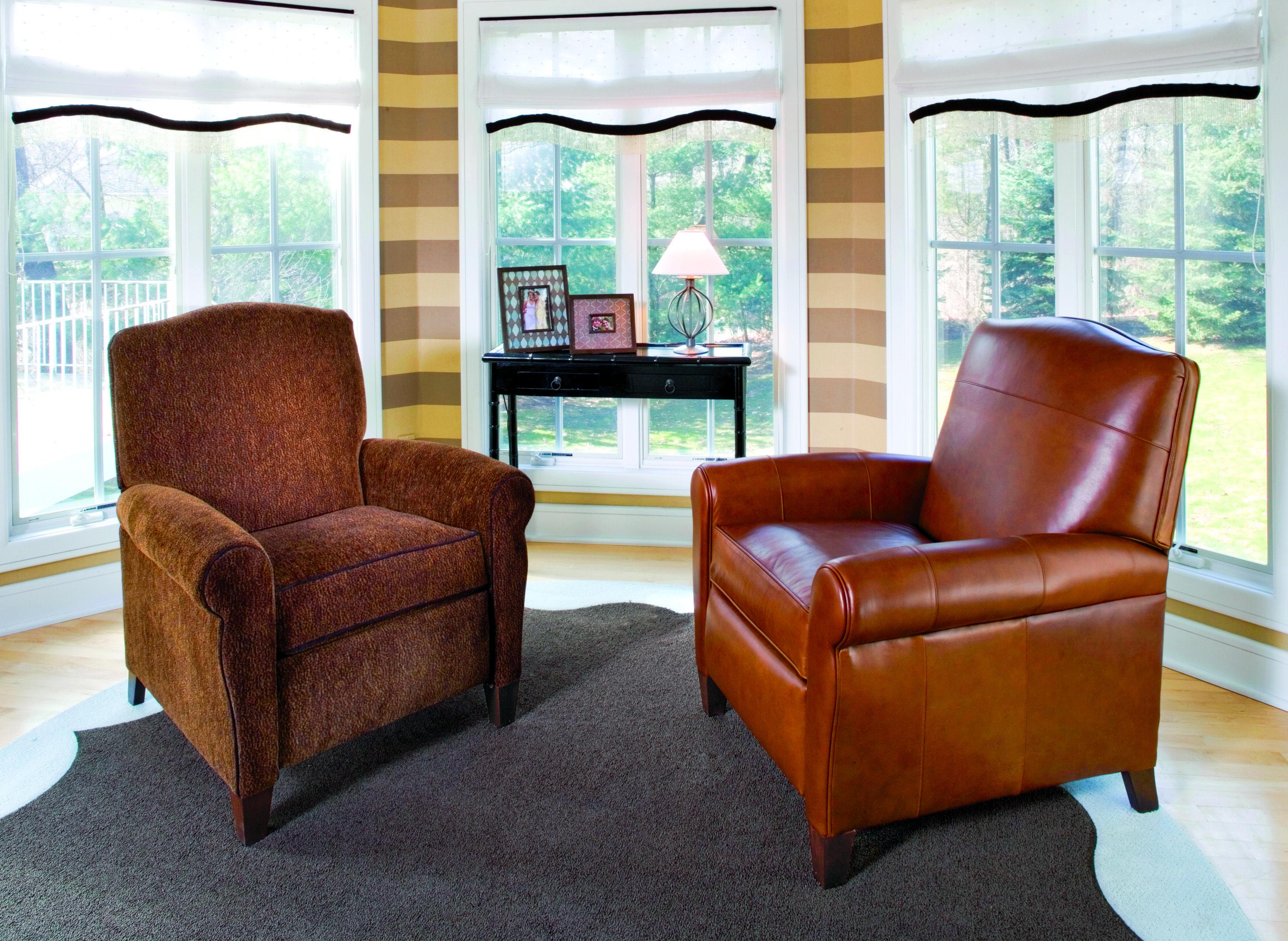 Smith Brothers Living Room Pressback Reclining Chair At Schmitt Furniture  Company At Schmitt Furniture Company In New Albany, IN