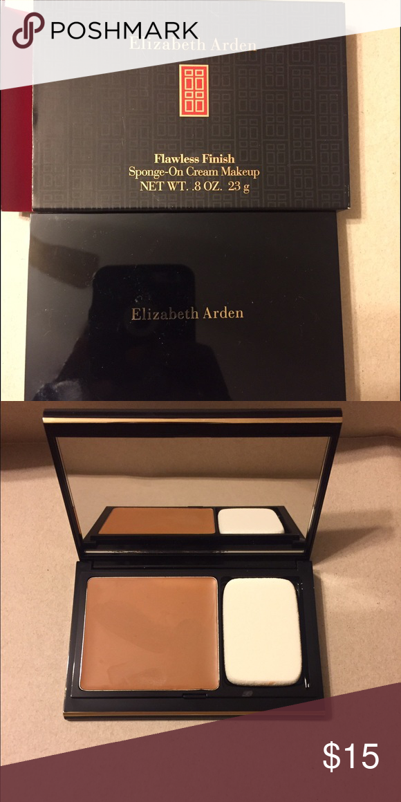 Elizabeth Arden Flawless Finish Cream Makeup The Color Is Cappuccino