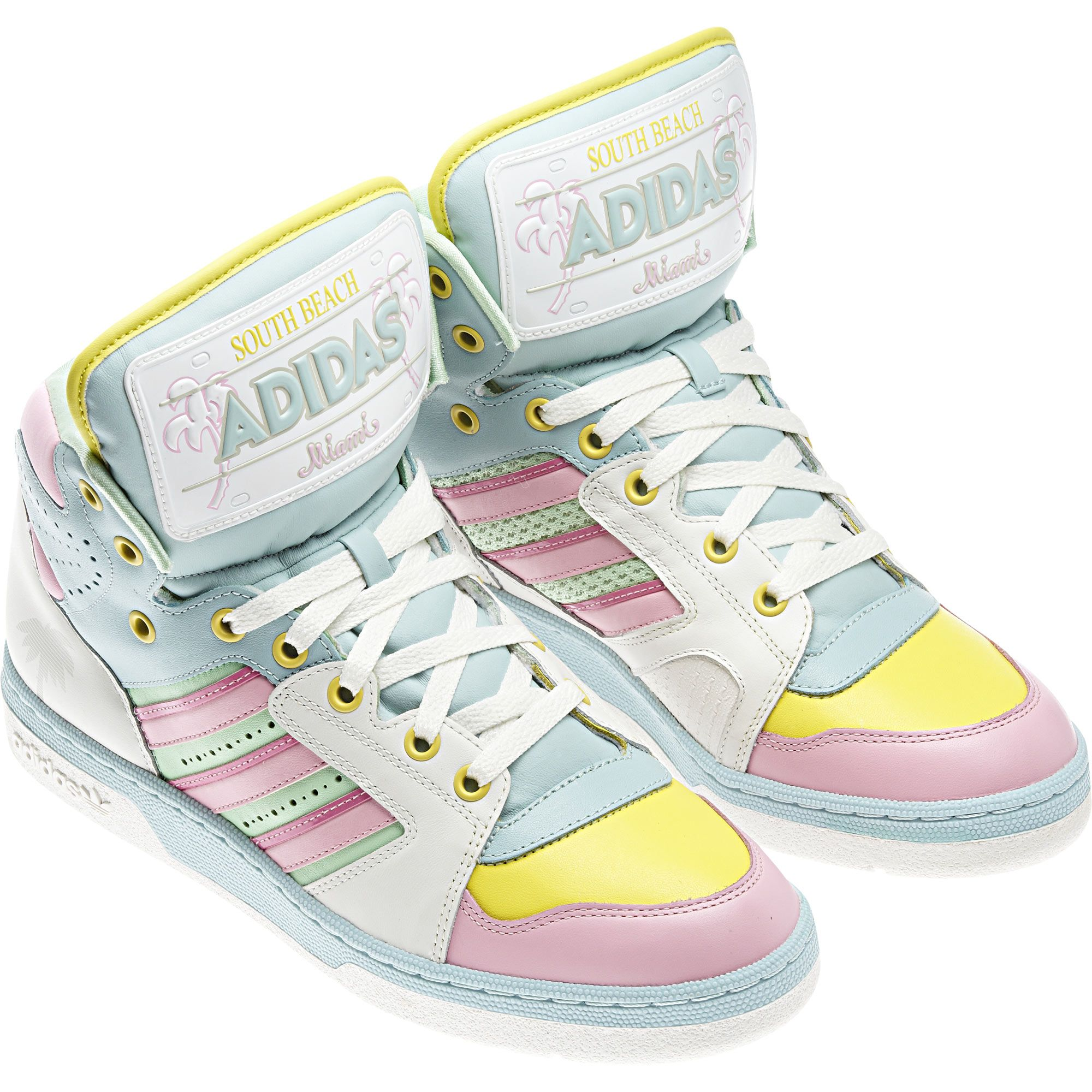 b567f6146948 adidas Jeremy Scott License Plate Miami Shoes  jeremyscott  shoes  adidas  For a sunny Miami vibe