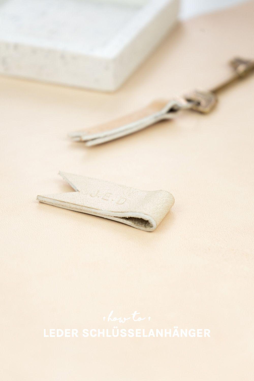 Personalisierte Leder Schlüsselanhänger Selber Machen Diy