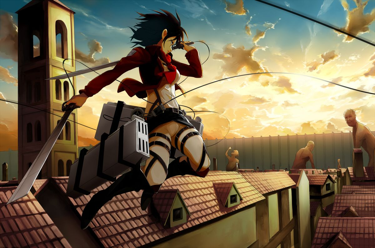 Attack On Titan With Is Hometown In Ruins Young Eren Yeager Becomes Determined To Figth Back Against The Giant T Attack On Titan Anime Attack On Titan Titans