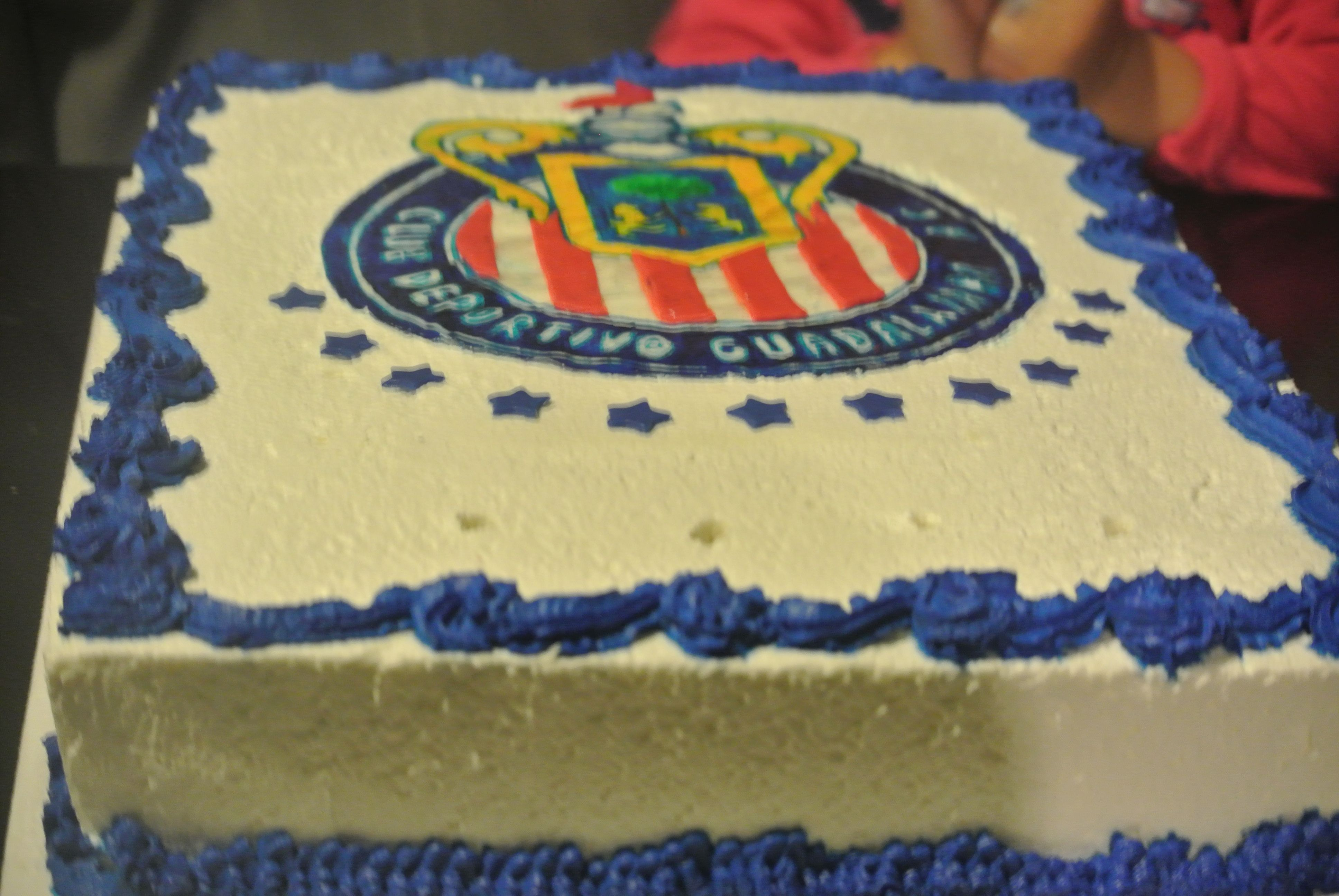 Sports Theme Cake Chivas Mexican Soccer Theme Logo Cake For