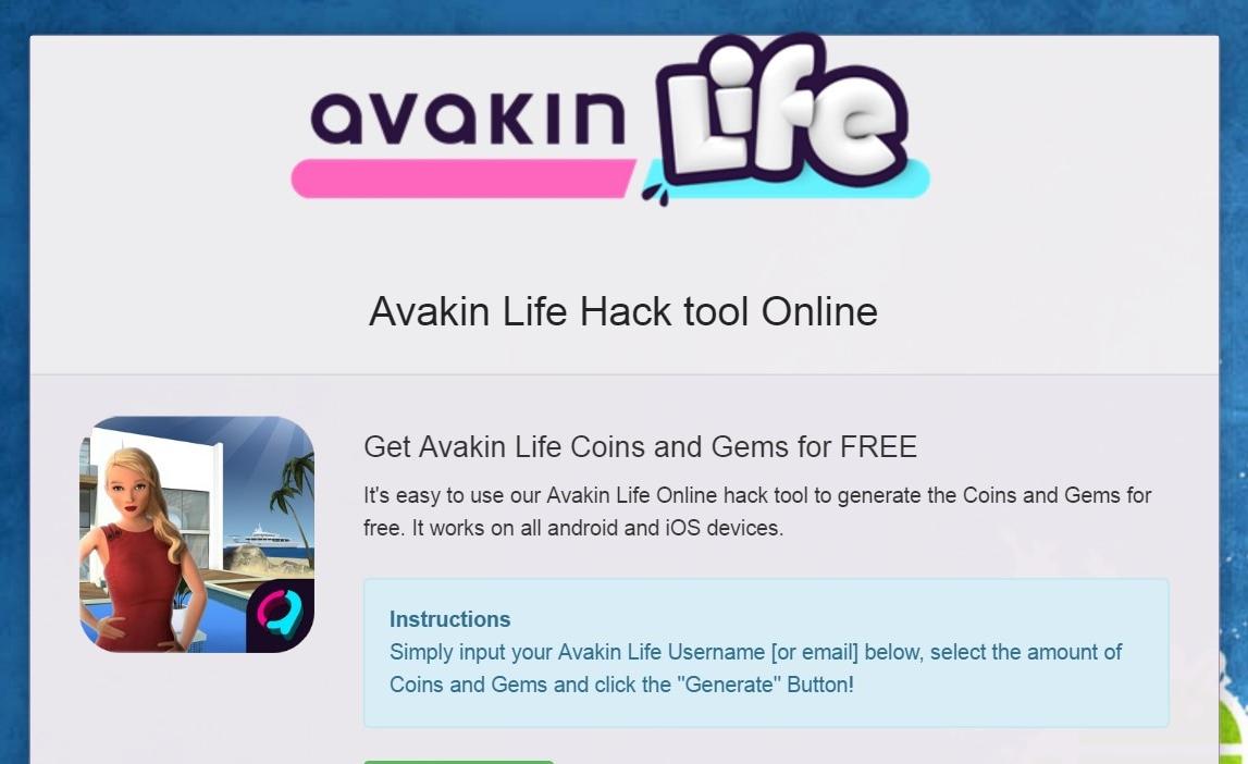 Avakin Life Free Avacoins 2017 Hacks Cheats Tool Coin Generator Promo Codes Life Cheats Avakin Life Hack Life Online