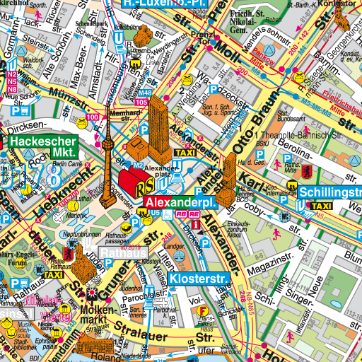 Central Berlin tourist map All I want to do is go to Berlin