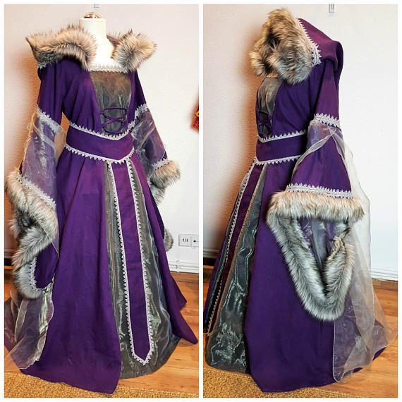 Por encargo vestido de Medieval Renacimiento vestido LARP y ...