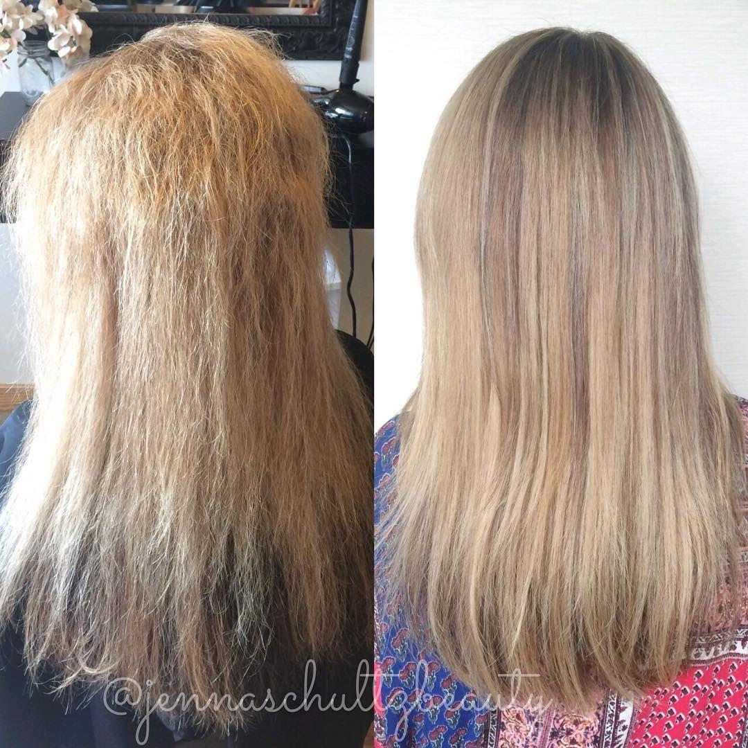 Thats it Im convinced cezanne_hair keratin treatment