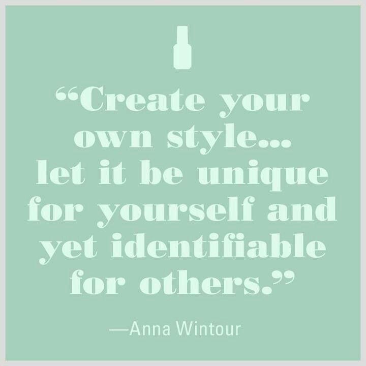 Style....