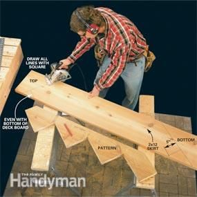 Best How To Build Deck Stairs Deck Stairs And Decking 640 x 480