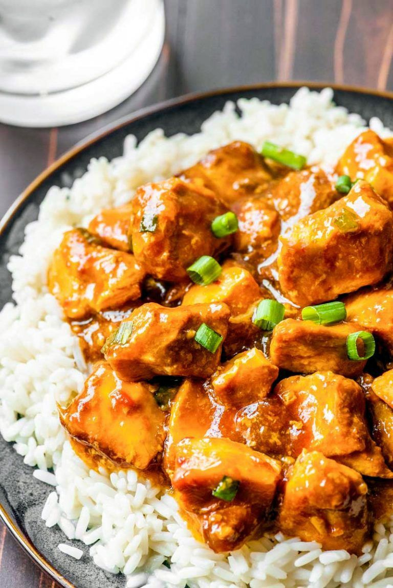 Best exciting honey bourbon chicken in crock pot on this