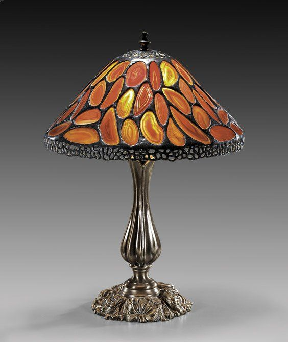 Tiffany style agate lamp shade agate pinterest agate tiffany style agate lamp shade audiocablefo