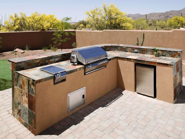 33 Amazing Outdoor Kitchens Build Outdoor Kitchen Outdoor Countertop Outdoor Kitchen Countertops