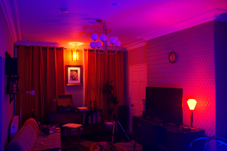 Neon Lighting Living Room Mood Lighting Bedroom Living Room