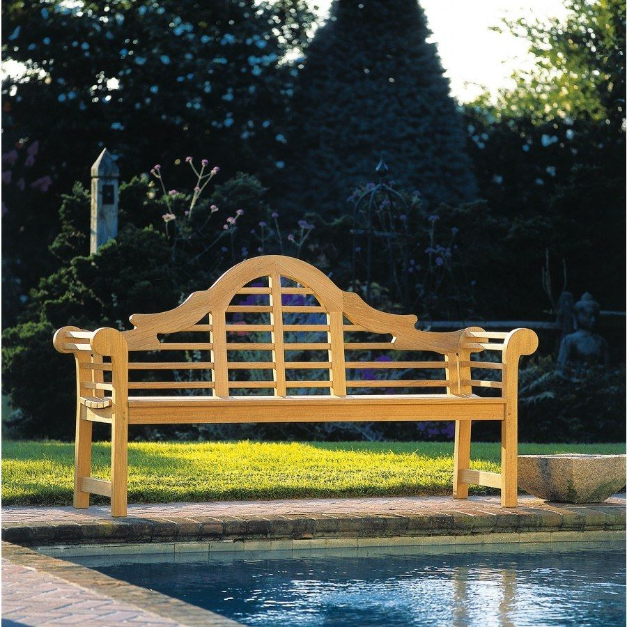 kingsley bate lutyens teak 6' bench