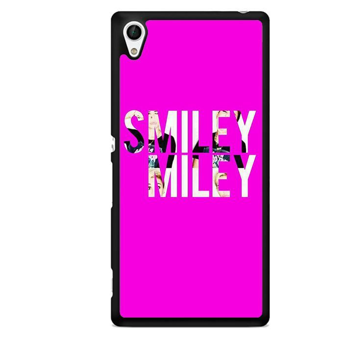 Smiley Miley TATUM-9718 Sony Phonecase Cover For Xperia Z1, Xperia Z2, Xperia Z3, Xperia Z4, Xperia Z5