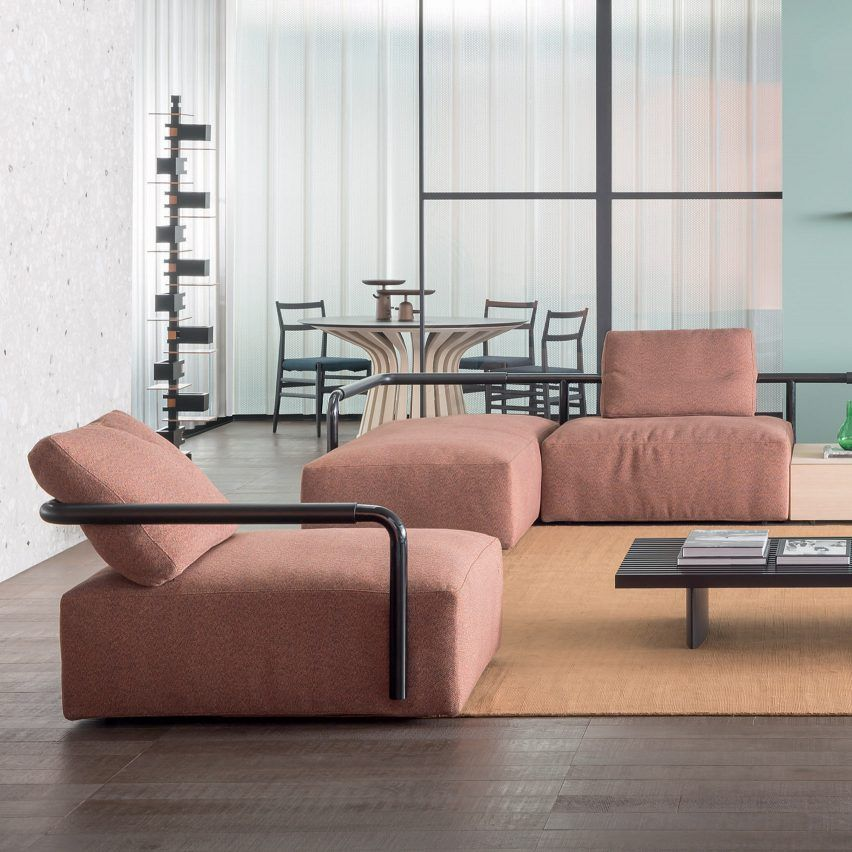 The Soft Props Sofa By Cassina References Handrails From