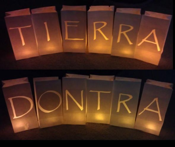Diy Luminaries Wedding Decoration Lighting Paper Bag Reception Final