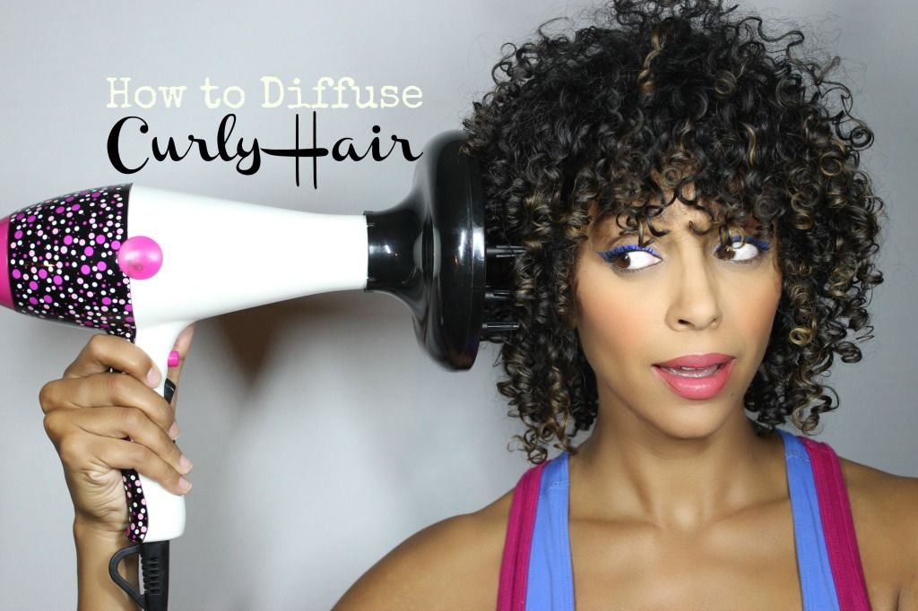 Video How to Diffuse Curly Hair Melting Pot Beauty