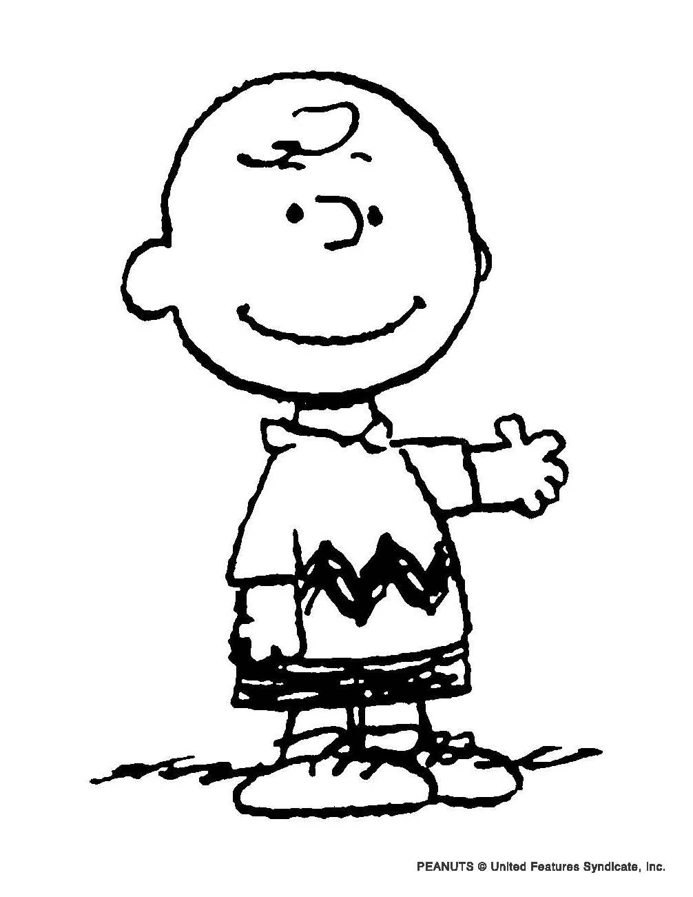 Coloring pictures charlie brown characters - Charlie Brown Coloring Pages Recherche Google