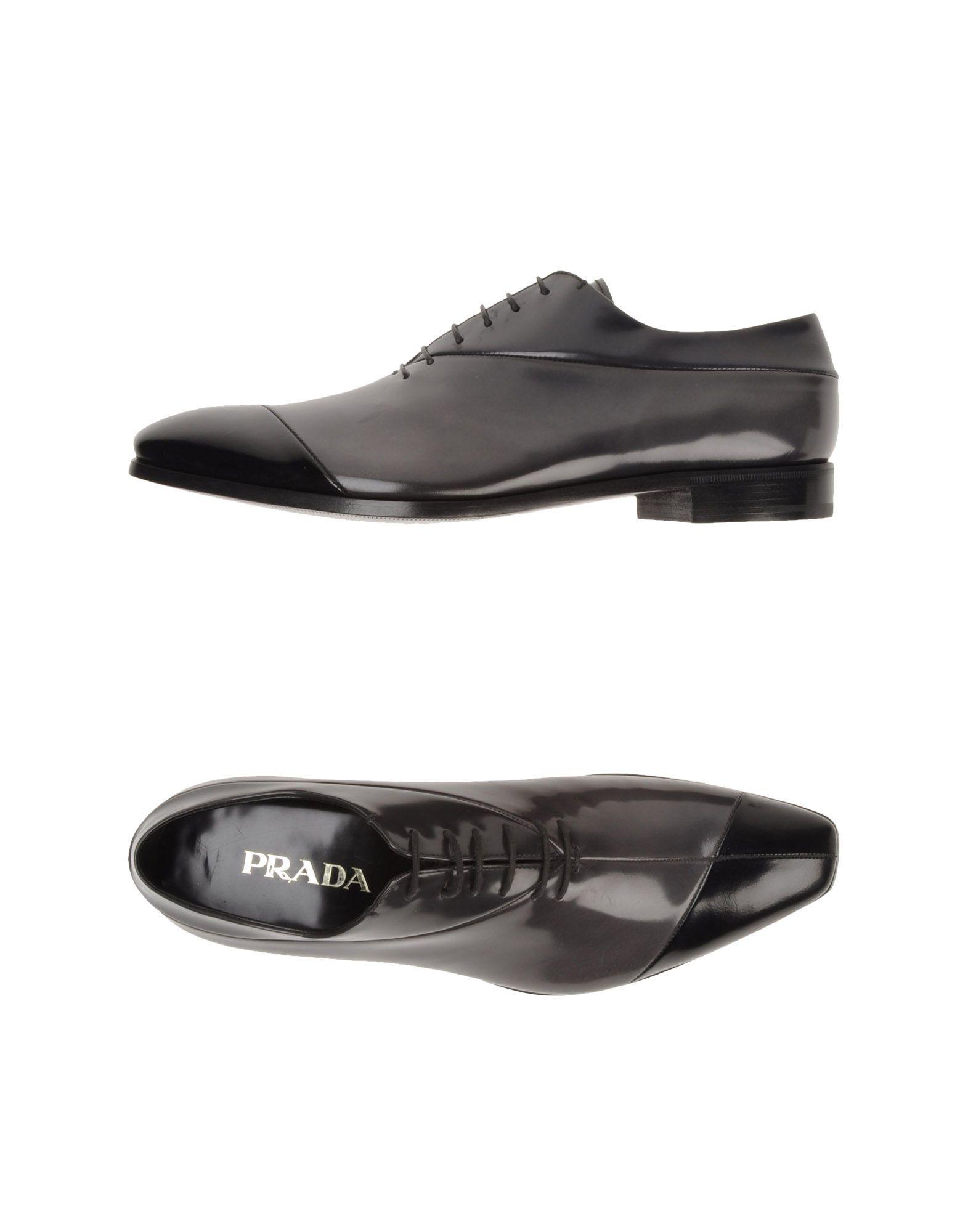 296fd57d04e PRADA Men - Laced shoes | Men Shoes ' - Shoes, Mens fashion en ...
