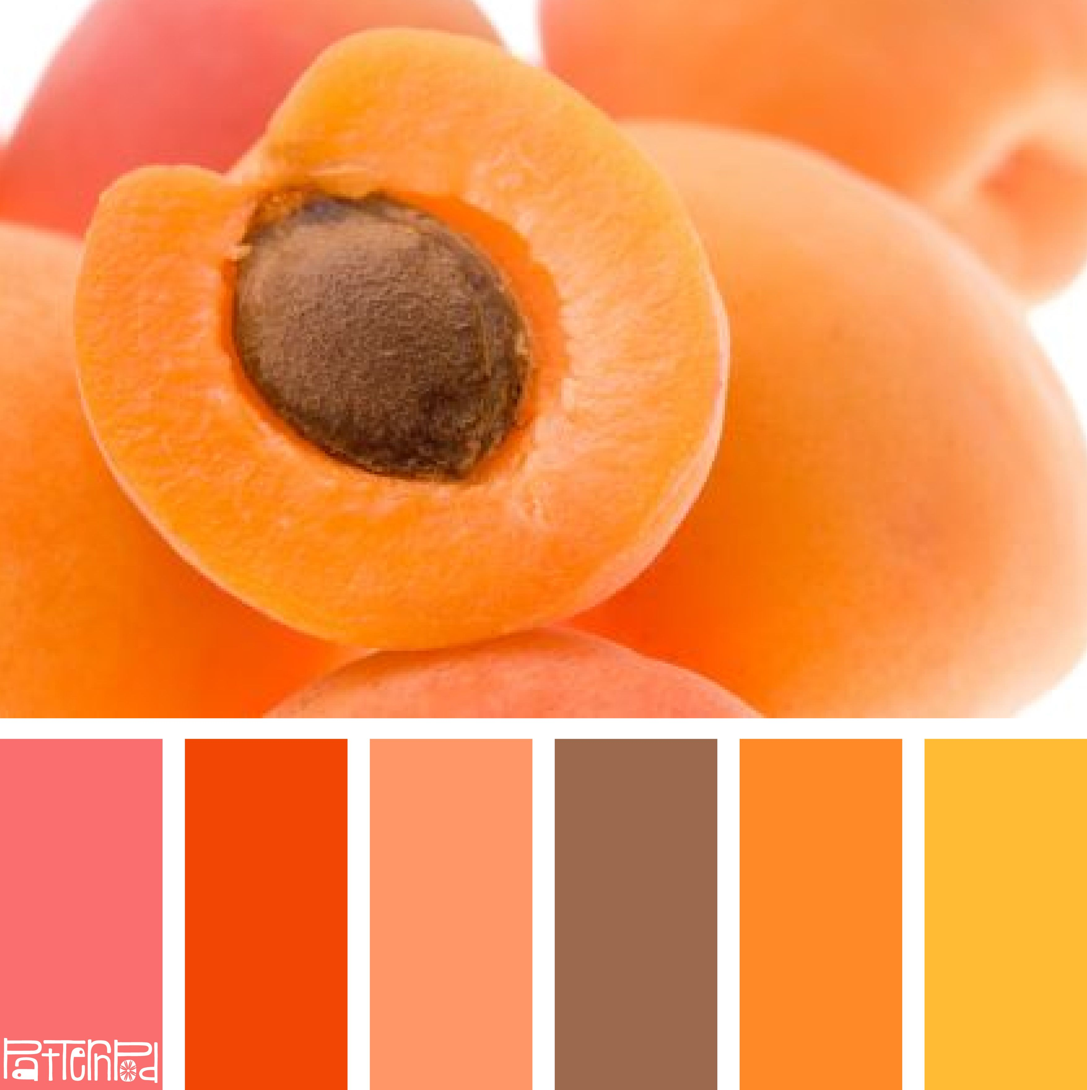 Apricot Farbe Sweet Apricot #patternpod #patternpodcolor #color #colorpalettes | Color Palette, Color Balance, Color Schemes