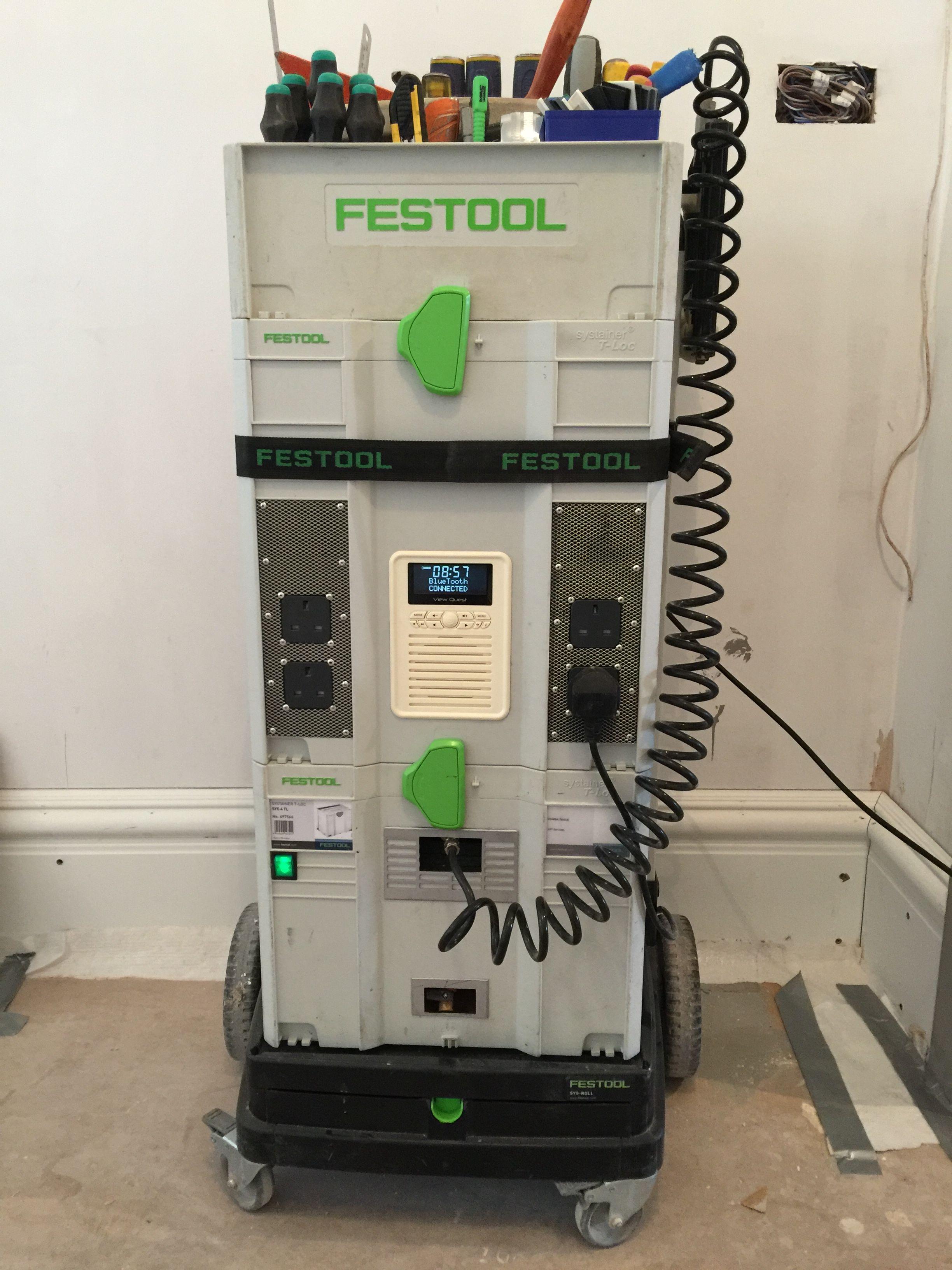 Festool Modular Compressor Sound System Festool In 2019