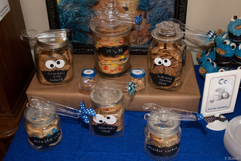 How To Decorate A Cookie Jar Inspiration 20110807_4788  Party Ideas  Pinterest  Cookie Monster Party Design Ideas