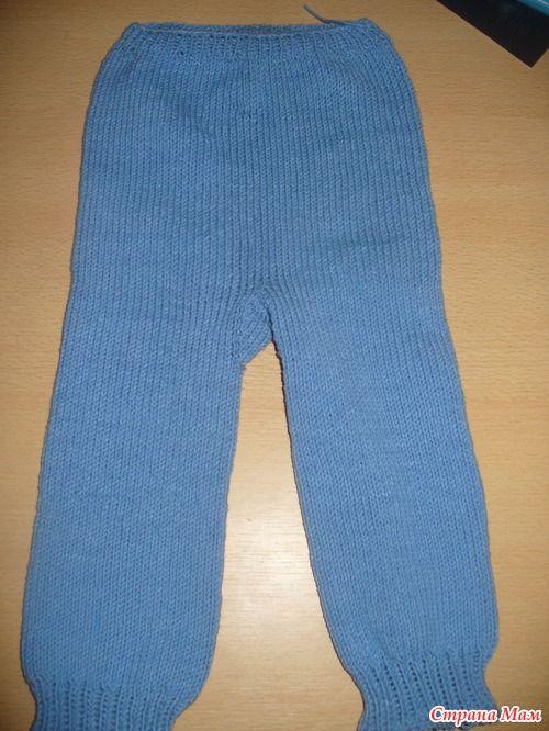 штанишки для малыша спицами как вяжу их я Knit Babies вязание