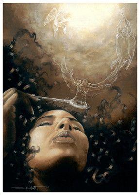 Black Spiritual Art African American Spiritual Art Artist Edwin