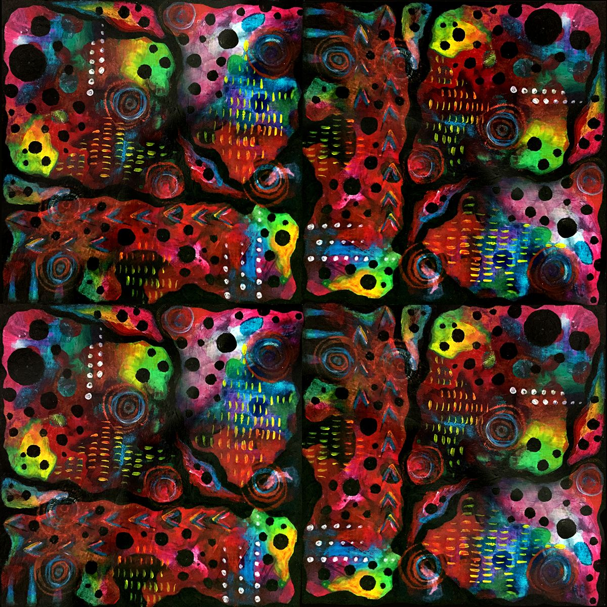 Pattern: Chaos Theory 1 Copyright 2015 Sharon Landon  Connect with me on IG at sharon.landon