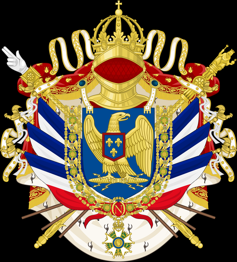 French Imperial Coat of Arms by Thasiloron