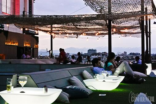Tartan Roof Circulo De Bellas Artes Madrid Confidential Restaurantes Puestas De Sol Restaurantes De Moda