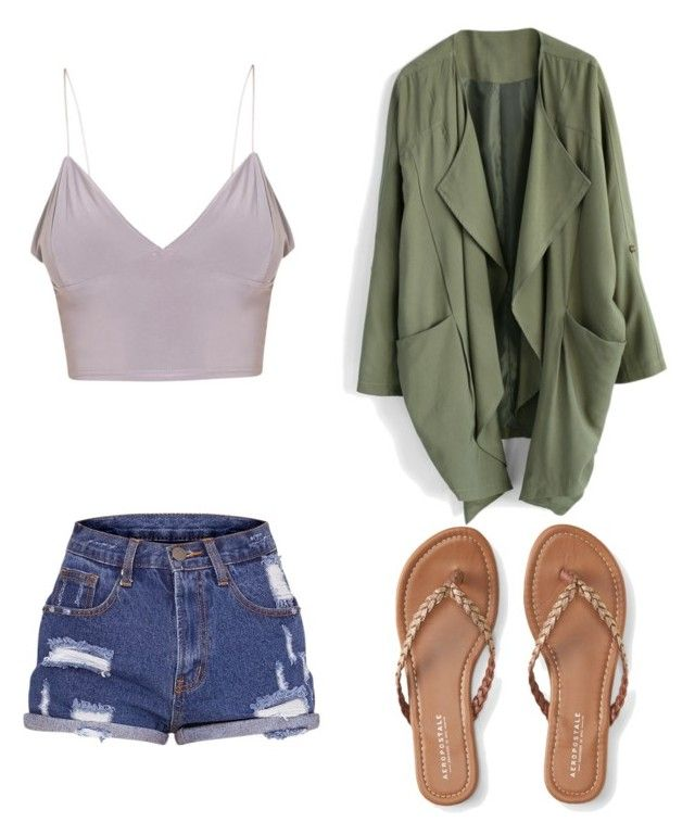 """Sem título #1"" by annarosa6 ❤ liked on Polyvore featuring Aéropostale and Chicwish"