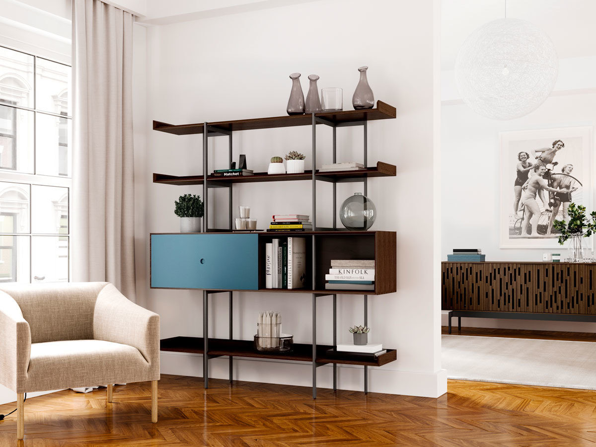 Margo 5201 Shelf Bdi Furniture Bdi Furniture For Living In 2019