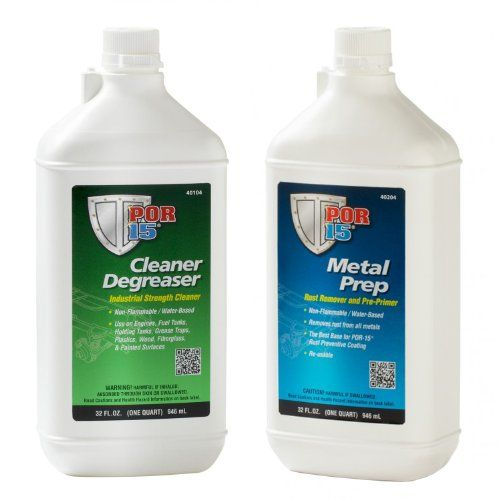 Por 15 Quart Cleaning Kit With Marine Clean Degreaser Metal