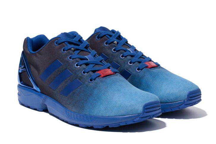 49e048510 adidas Originals for UNITED ARROWS   SONS ZX FLUX INDIGO UAS
