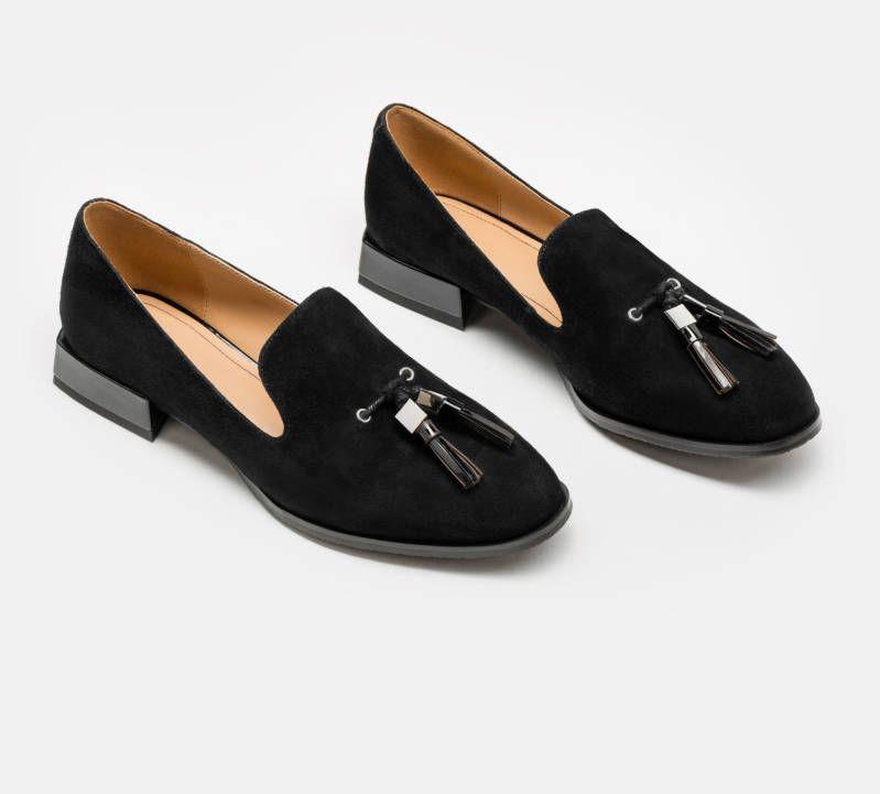 Polbuty Damskie Czarne 28798 02 N0 Z Kolekcji 2019 Sklep Internetowy Kazar Loafers Fashion Shoes